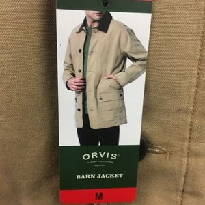 33925b82 Orvis Jackets & Coats - New Orvis Barn/Canvas Jacket Med Tan Button up